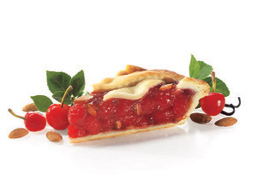 Cherry Almond Pralines Lattice Pie