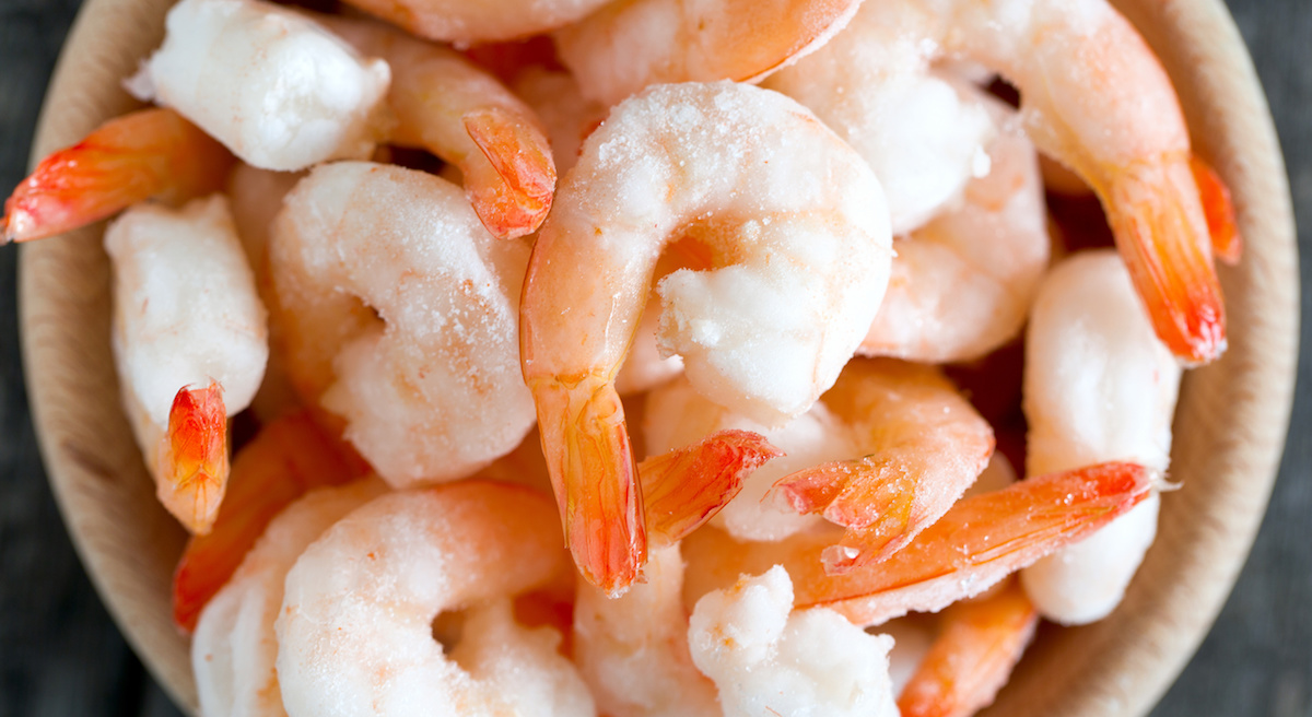 Frozen Food Month Shrimp
