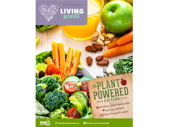 Living Well Magazine, the Plant Powered Edition, Winter 2020