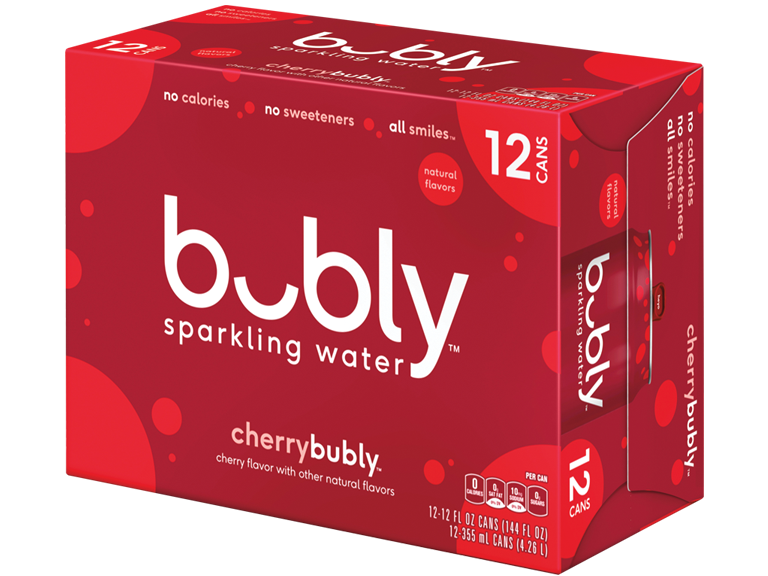 Bubly new carbonated water