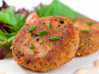 Crab Cakes with Sirracha Mayonnaise recipe