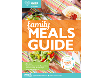 Living Well Magazine, Family Meals Guide, 2020