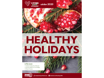 Living Well Magazine, Healthy Holidays edition, 2020