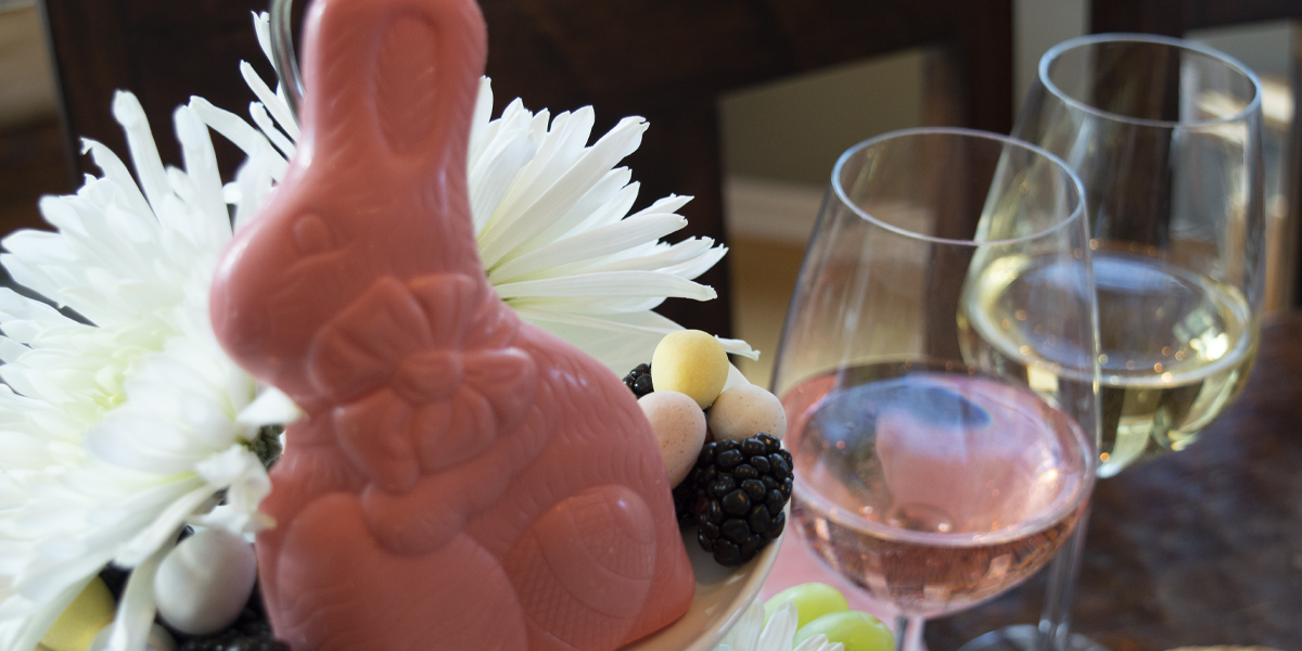 Rose and White Wine by pink candy rabbit