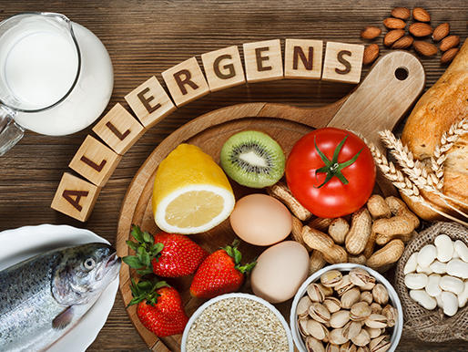 Nutrition for food allergens