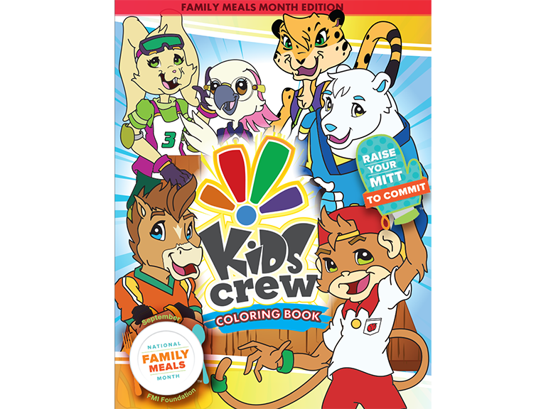 Kids Crew Coloring book