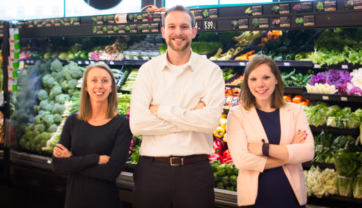 Your Living Well Specialists: Louise, Nathan, and Stephanie