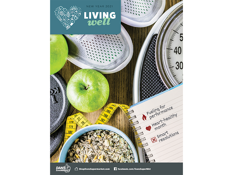 Living Well Magazine, New Years Edition