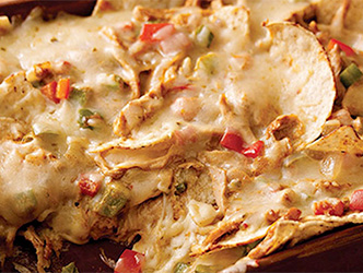 Rally behind your local hockey team with our chicken nachos recipe
