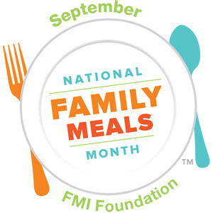 September is Family Meals Month